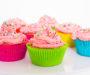 Cupcakes à la vanille et coeur au chocolat noisette – Facile